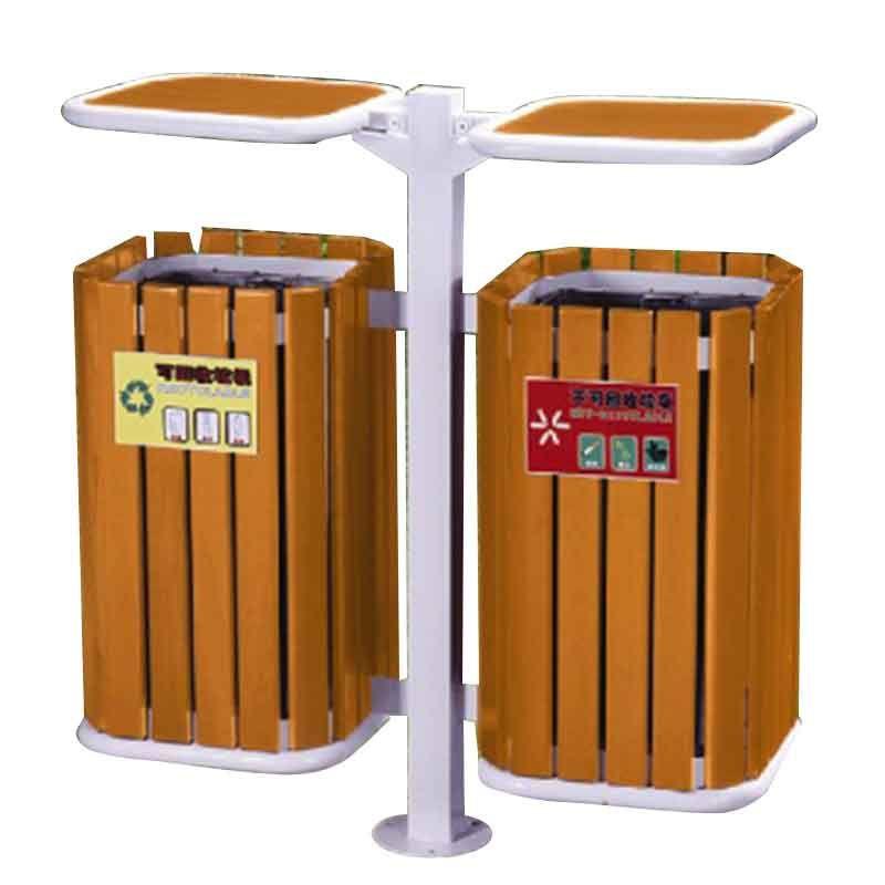 thùng rác công viên