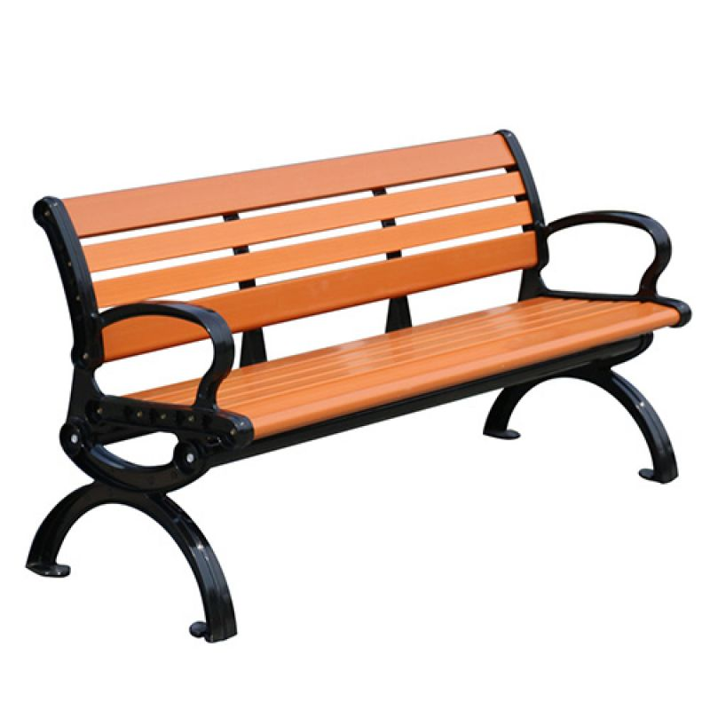 Ghế gỗ công viên có tựa 1.5m