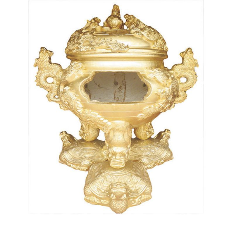 Đỉnh hóa vàng thập long tranh châu đế