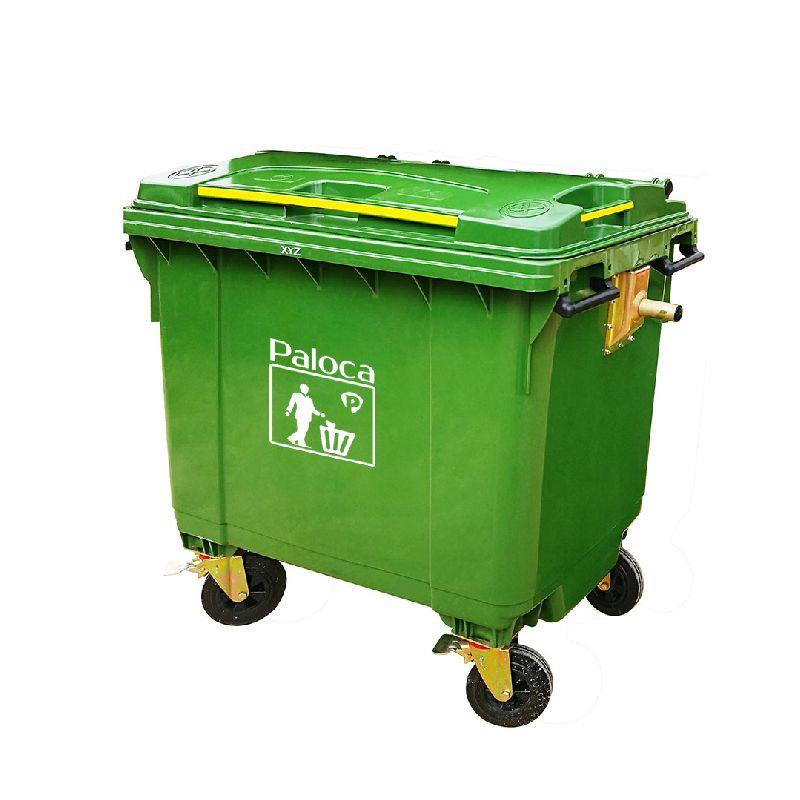 thùng rác 660 lít giá bao nhiêu
