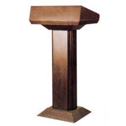 Bục phát biểu gỗ