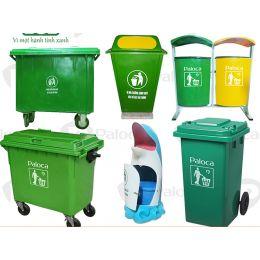 Phân phối thùng rác nhựa tại Phú Thọ