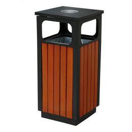 Thùng rác ngoài trời bằng gỗ A78-D