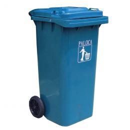 Thùng rác nhựa 120L màu xanh da trời