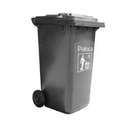 Thùng rác nhựa 240L màu ghi EPTN5K11