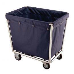 Xe chở đồ giặt là khung inox