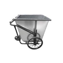 xe gom rác bằng tôn