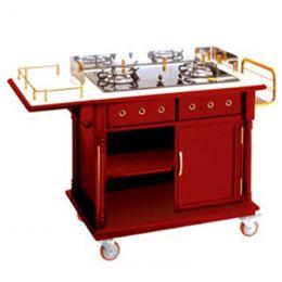 Tủ bếp di động có bếp ga nấu ăn tại bàn WY-84