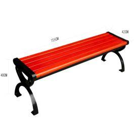 Kích thước ghế băng công viên bằng gỗ không tựa
