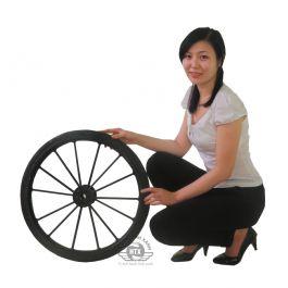 bánh xe đổ rác