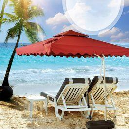 Ô lệch tâm vuông ở bãi biển