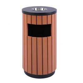 Thùng rác gỗ có gạt tàn A78-C