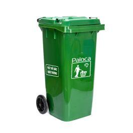 Thùng rác nhựa HDPE 120 lít thương hiệu Paloca