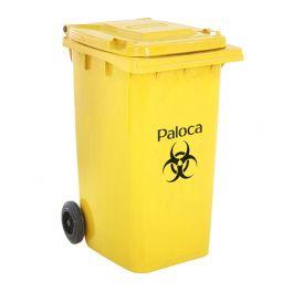 Thùng rác nhựa y tế màu vàng