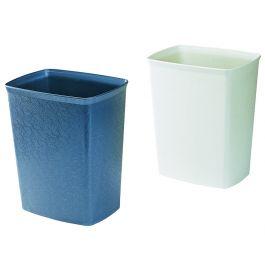 Thùng rác nhựa không nắp hình chữ nhật