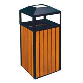 Thùng rác gỗ A78-A có gạt tàn