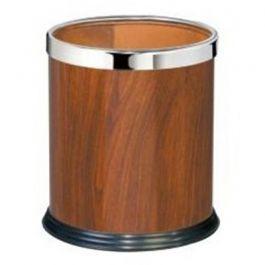 Thùng rác tròn văn phòng giả gỗ A36