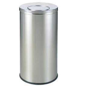 Thùng rác inox tròn A35-L