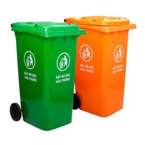 Thùng rác có nắp đậy