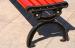 Chân ghế băng công viên bằng gỗ không tựa được làm từ gang đúc nguyên khối