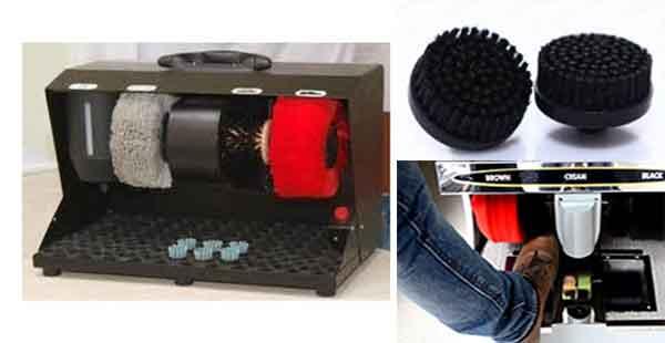 phân loại chổi máy đánh giày