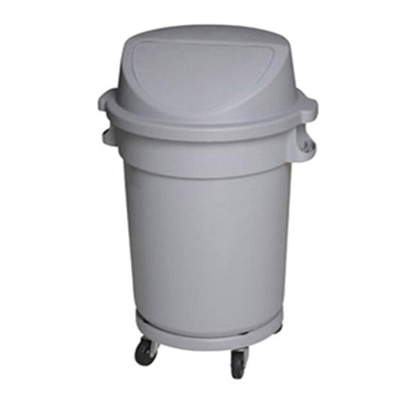 Thùng rác nhựa tròn