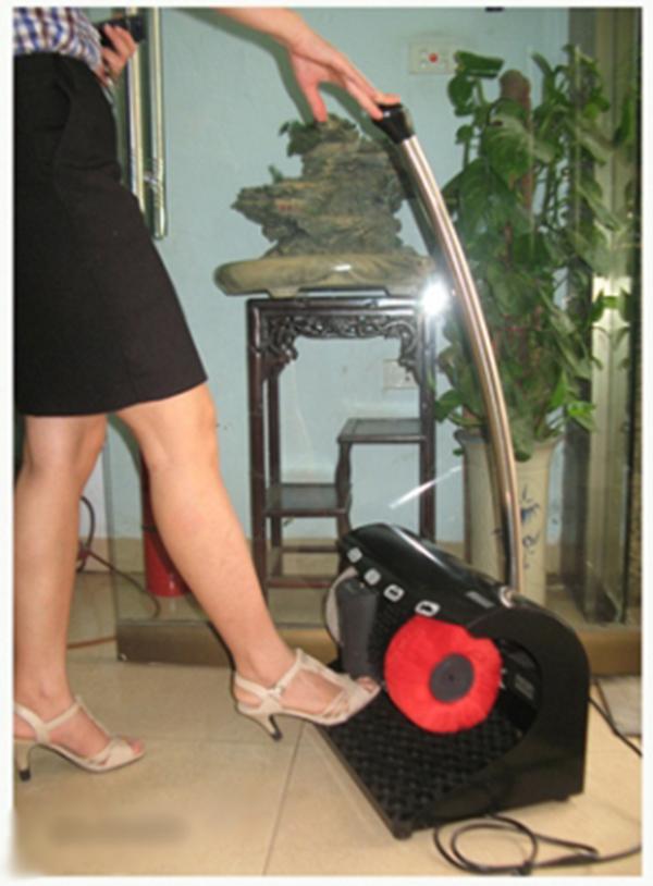 cách sử dụng máy đánh giày tay vin