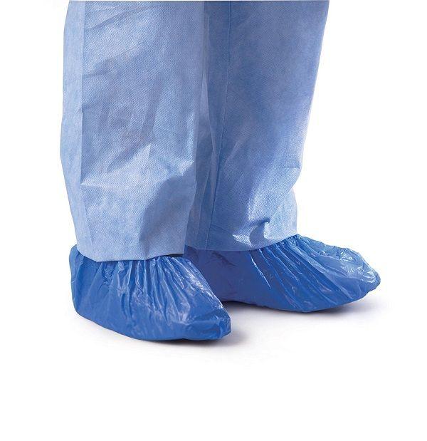 Máy bọc giày sẽ giúp bảo vệ bạn khỏi các chất độc hại ở các khu công nghiệp