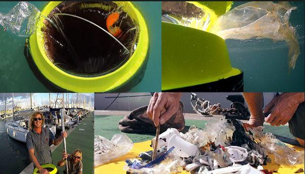 Thùng rác đại dương có khả năng thu gom tất cả các loại rác thải trôi nổi trên mặt biển