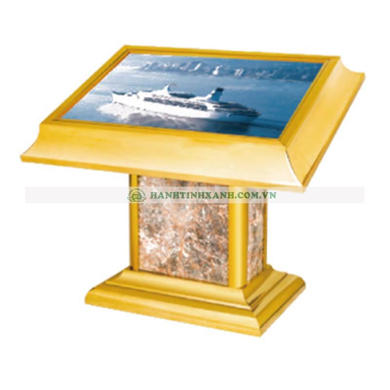 bảng menu có hộp đèn c16
