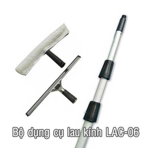 bộ dụng cụ lau kính lac06