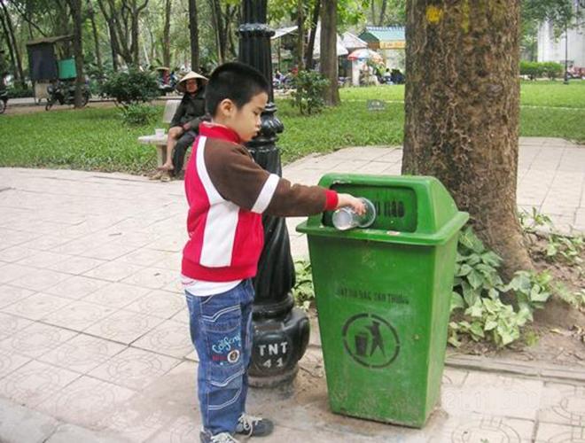 Đại lý phân phối thùng rác tại Bình Dương