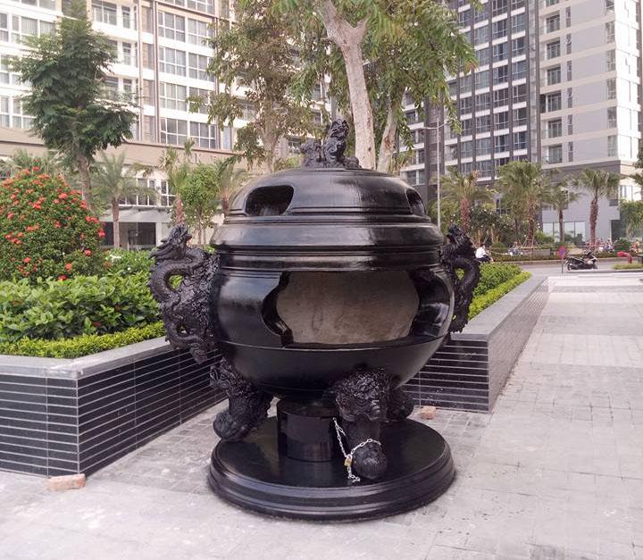 Lò đốt vàng mã chung cư Cửu Long được nhiều khách hàng ưa chuộng bởi thiết kế tâm linh, phong thủy đẹp mắt