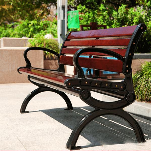 Ghế công viên ngoài trời phù hợp cho nhiều không gian ngoài trời
