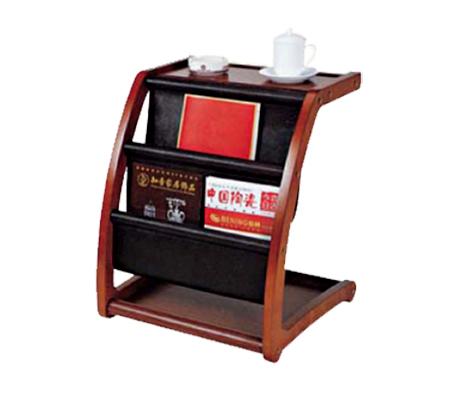 Giá để sách báo gỗ sang trọng