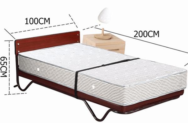 Kích thước chuẩn giường phụ khách sạn kiểu đứng, thiết kế trang nhã