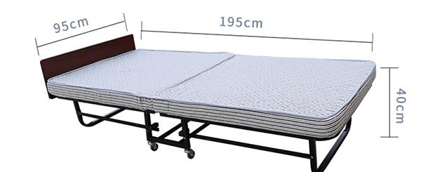 Kích thước giường phụ khách sạn chuẩn. Có thể dễ dàng decor, trang trí theo phong cách khách sạn