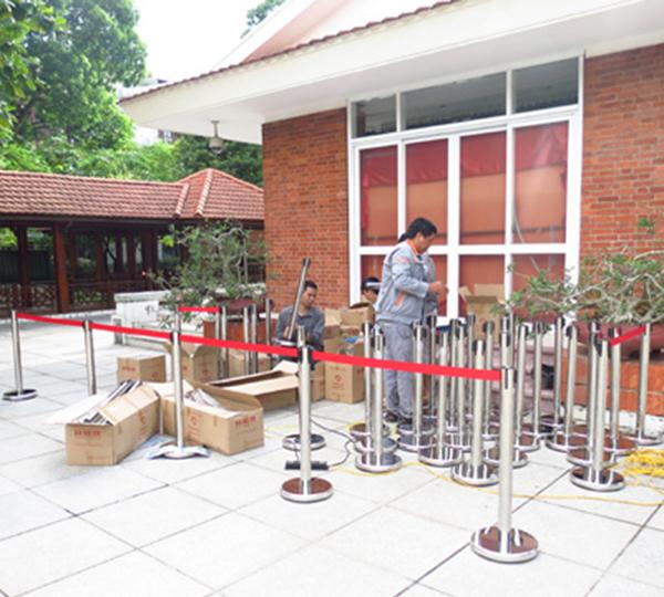 Mua cột chắn inox chất lượng tốt nhất tại Thái Nguyên