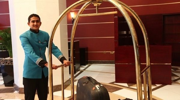 Phong cách phục vụ sẽ trở nên chuyên nghiệp hơn với xe đẩy hành lý