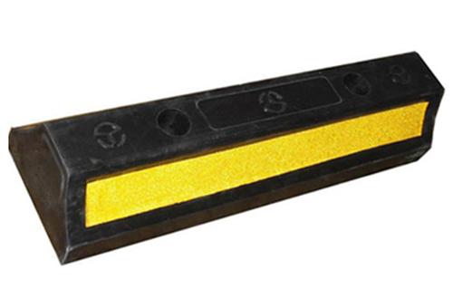 Thanh chặn bánh xe phản quang