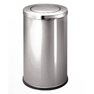thùng đựng rác inox A35-O (TRẮNG)