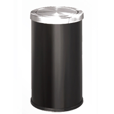 thùng đựng rác inox A35-O(ĐEN)