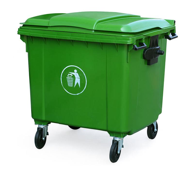 Thùng nhựa rác 660 lít