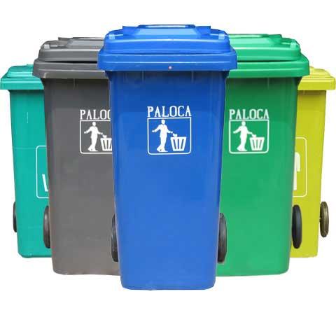 Thùng rác nhựa HDPE