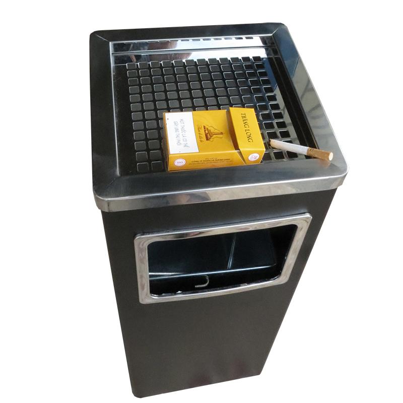 thùng rác Inox chữ nhật A34-B