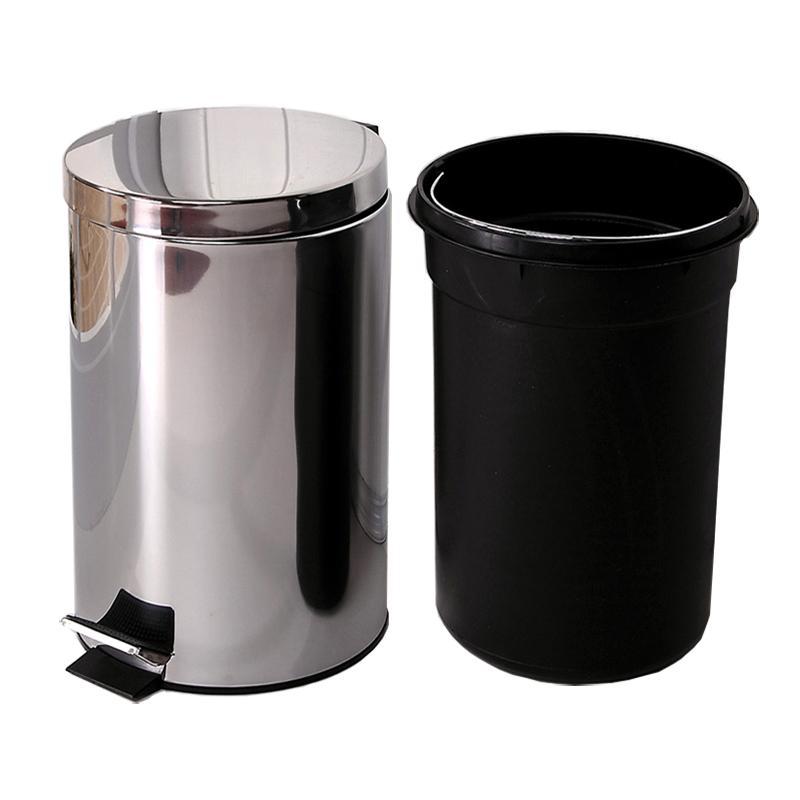 thùng rác inox đạp chân 20 Lít