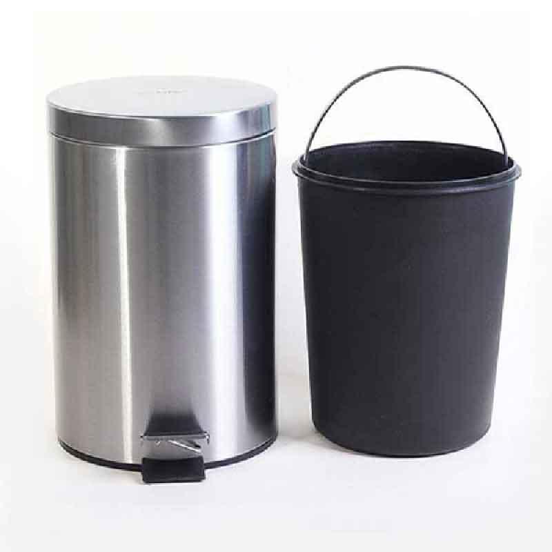 thùng rác inox đạp chân