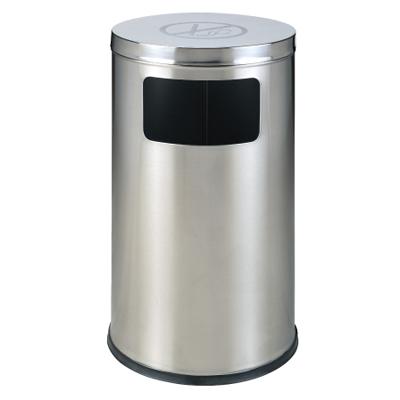 Thùng rác inox tròn cấm hút thuốc