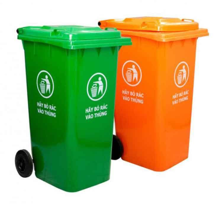 Thùng rác Paloca 120 lít