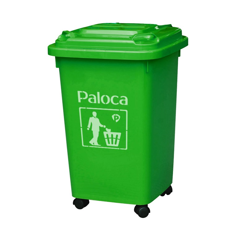 thung rác nhựa